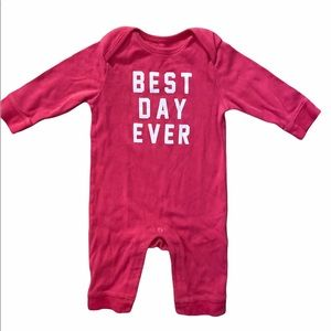 ✨3 for $30✨Old Navy 3-6M Girls Snap Jumpsuit